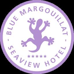 BLUE MARGOUILLAT SEAVIEW HOTEL - logo
